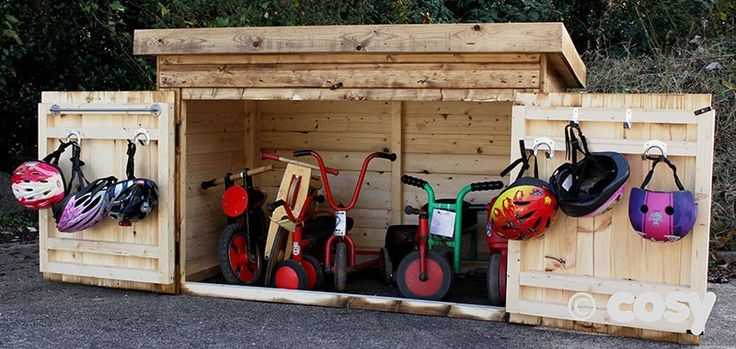 TRIKE STORAGE SHED - Sheds and Outdoor Storage - Early Years - Cosy Direct