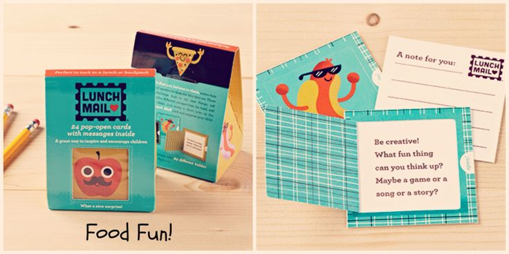 "Brighten up your child's lunchbox with our new ""Lunch Mail"". These illustrated pop up cards are designed to inspire your children daily. Find them at www.graceandlace.com.au :)"