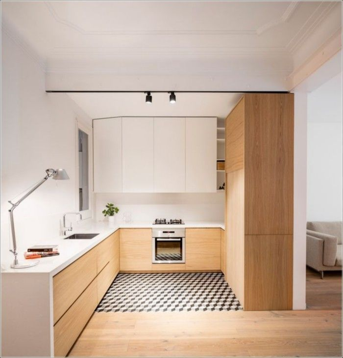 138 Awesome Scandinavian Kitchen Interior Design Ideas https://www.futuristarchitecture.com/8088-scandinavian-kitchens.html #kitcheninteriordesignapartment