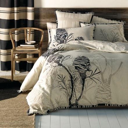 Cloth bedlinen Banksia