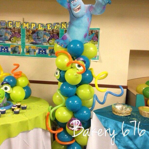 36 best images about decoraci n con globos on pinterest for Bakery decoration