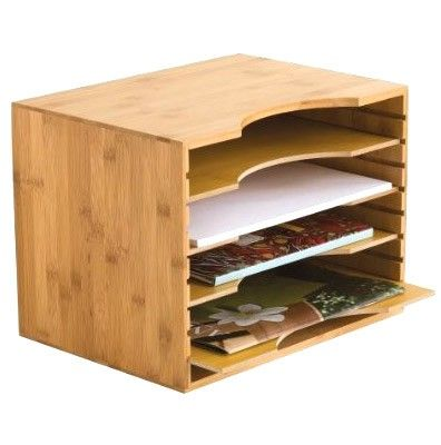 Bamboo Paper Sorter available from Storables.com