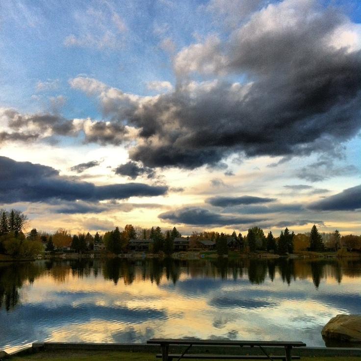 Stunning sunset #LakeBonavista #Sunset #Natureisbeautiful