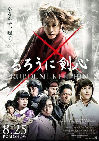 ろうに剣心(2012)  Action / Drama / History  ★★★☆☆