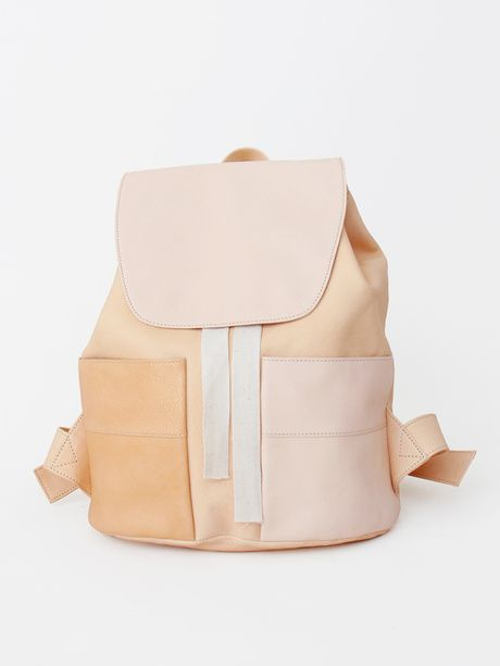 Handmade backpack by Yue