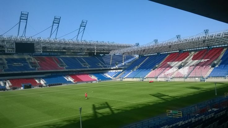 My first look at Wisla Krakow's new stadium