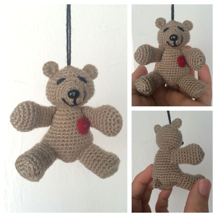 Osito Amigurumi Tutorial Canal Crochet : 17 Best images about Mis Labores on Pinterest Trapillo ...
