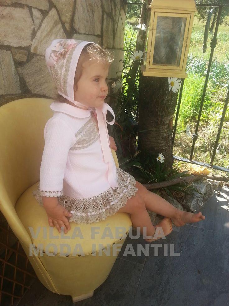Villa f bula moda infantil conjunto de ni a con capota for Valla infantil carrefour