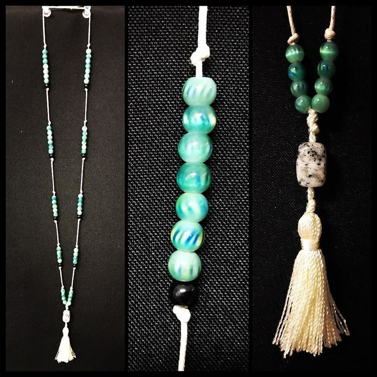 Beautiful tassel necklace with green and black glass beads and a grey black and white speckle agate pendant bead! Available now! #torileydesigns #beautiful #beads #green #agate #tassel #necklace #available #handmade #unique http://ift.tt/2rLdB4E