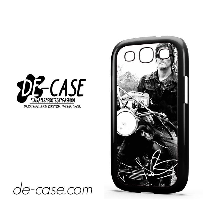 Norman Reedus And His Bike DEAL-8018 Samsung Phonecase Cover For Samsung Galaxy S3 / S3 Mini