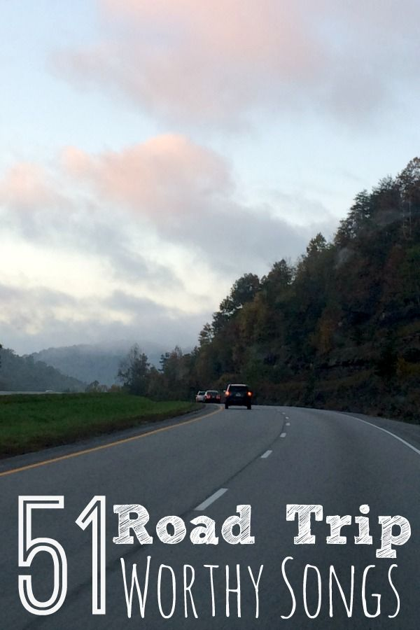 From classic to current Top 40 hits here is a list of road trip songs for you to add to your playlist next time you pack your bags and hit the open road.