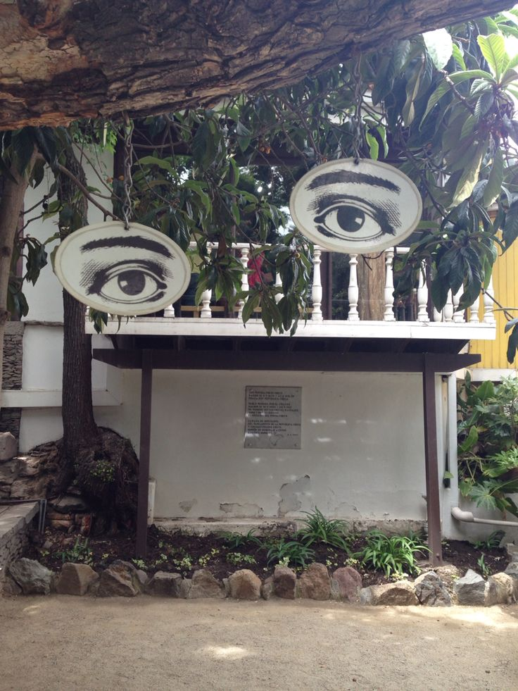 Neruda's House, La Chascona, Santiago de Chile