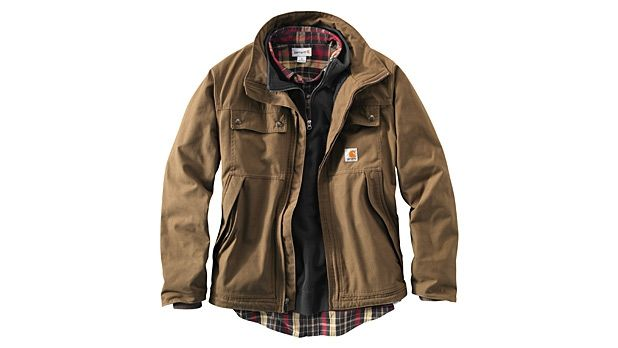 Carhartt Quick Duck Woodward Traditional Jacket - Outerwear - MensJournal.com
