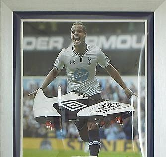 Signed Roberto Soldado Spurs Framed Boot - Tottenham Hotspur   COA - Autographed Soccer Cleats -- Read more  at the image link.