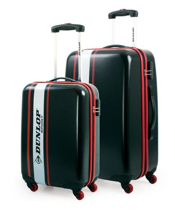 Juego de maletas rígidas Dunlop.