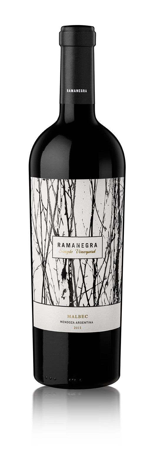 The Use Of Hand Generated, Ink Strokes Works Well For This Wine Label As It