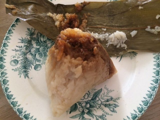 Day 7:  03: Ba Chang. Indonesian rice cake  - By Ana