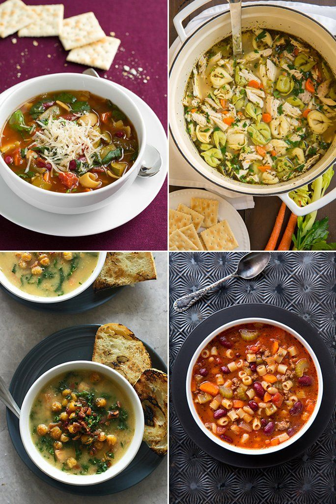 16 Italian Soup Recipes to Get You Through the Chilly Winter Months