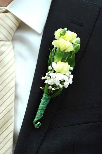Ansteckblumen Wedding Bouquet S Buttonhole S Boutonnière