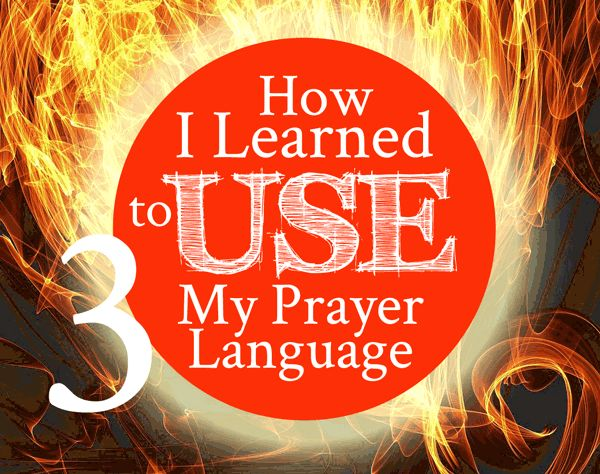 When Jesus baptized me in the Holy Spirit, He gave me the gift of speaking in tongues--but I had to learn how to use my prayer language. You can learn too!