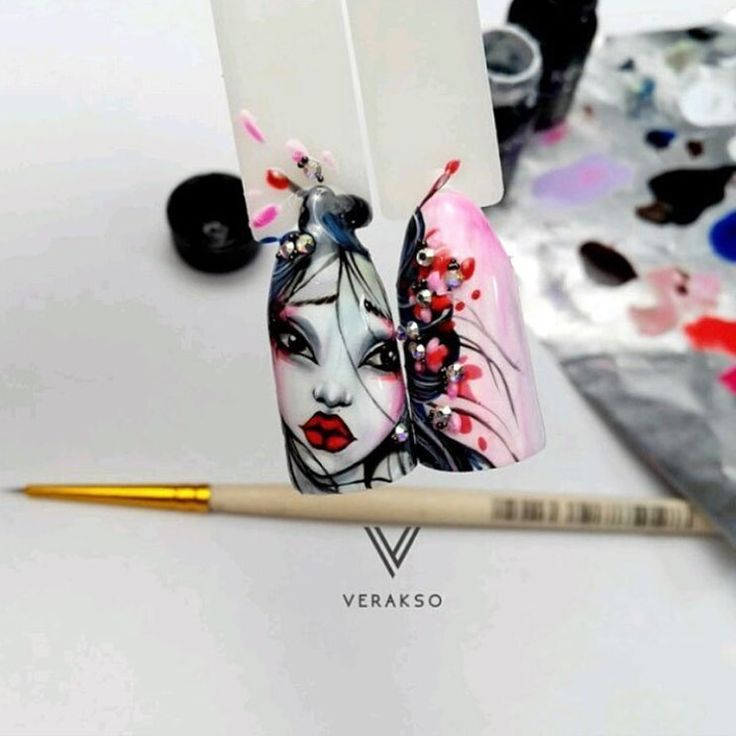 "452 Likes, 3 Comments - Идеи для ногтей 💅🏼 (@ideas_for_nail) on Instagram: ""Мастер @nailartist.moscow  #дизайнногтей #гельлак #шеллак  #модныеногти #маникюр #мода  #френч…"""