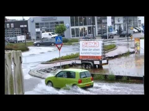 Wateroverlast - Heemskerk 28-07-2014