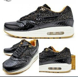 Nike air max 1 FB quilted leopard