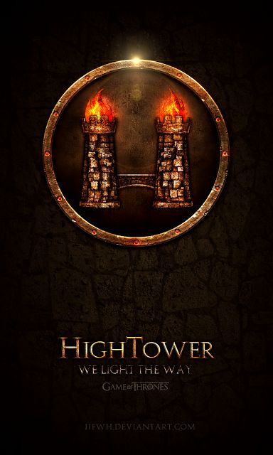 High Tower ~ Game of Thrones Fan Art by Jie Feng