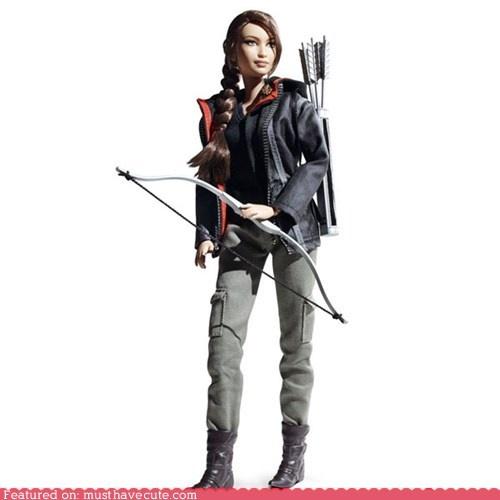 Katniss Everdeen barbie. I love her!