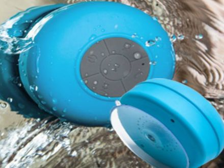 $23 for a Wireless Bluetooth Shower Speaker Available in 3 Colours! – Taxes Included ($99 Value)