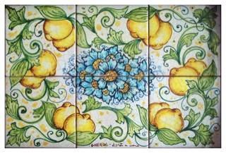 Italian Tile Tabletop