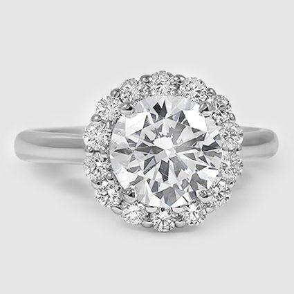 17 best ideas about flower diamond rings on pinterest. Black Bedroom Furniture Sets. Home Design Ideas