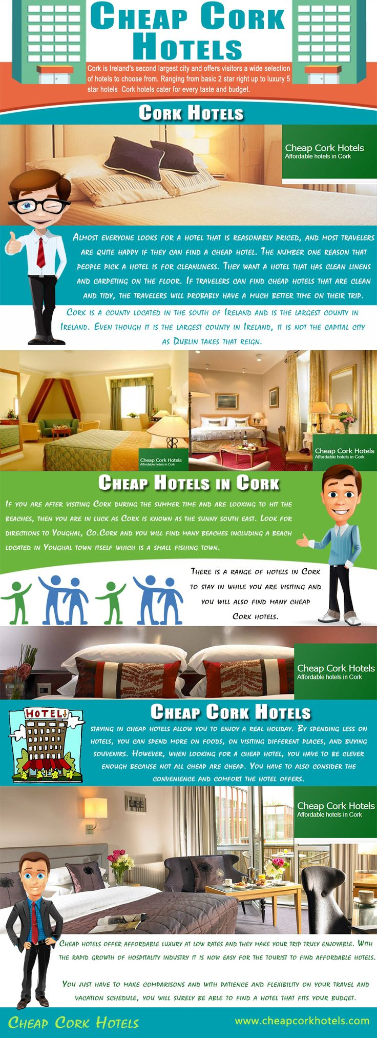 Visit our site http://www.cheapcorkhotels.com/ for more information on Cheap Cork Hotels.Cheap Cork Hotels are elegant and offer high standard accommodations and integrated service to their guests. Hotels have all the required facilities like a television set, delicious food, excellent service and good rooms. They are clean and have an impressive ambience. Cork Hotels leaves an everlasting impression on their travelers.
