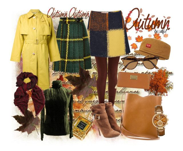 """Sexy Autumn"" by ibuperi on Polyvore featuring A.N.A, Marni, Miu Miu, Burberry, Brixton, Ray-Ban, Chanel, Rosetta Getty, Bill Blass and Hermès"