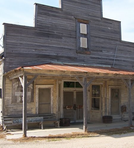 """The Old Store"" in westphalia, texas"