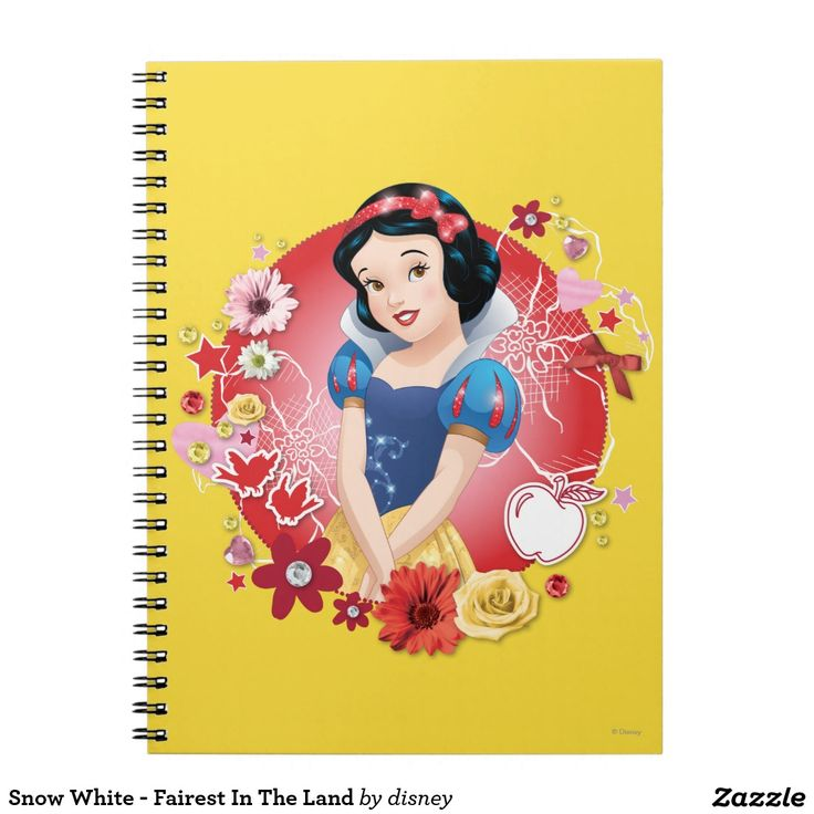 Snow White - Fairest In The Land. Regalos, Gifts. #notebook #cuaderno
