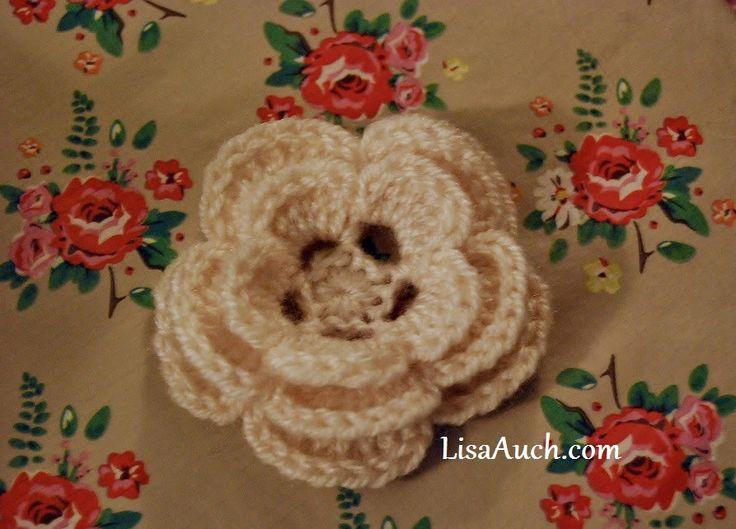 148 Best Head Warmersflowers Images On Pinterest Crochet Ideas
