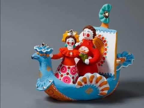 ▶ Дымковская игрушка (Dymkovo toys) - YouTube