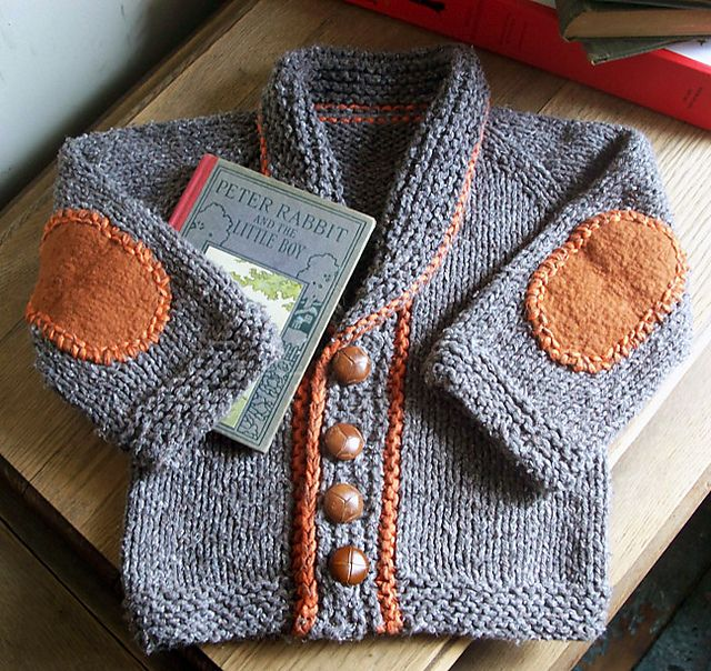 Free knitting pattern for Baby Sophisticate cardigan sweater and more baby cardigan knitting patterns at http://intheloopknitting.com/free-baby-cardigan-sweater-knitting-patterns/