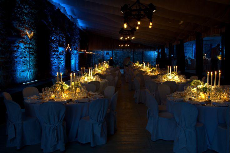 il Catering e le Luci a LED