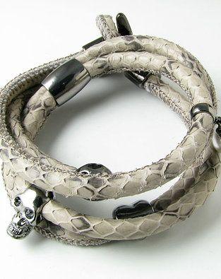Armbånd af slangeskind fra VeisDesign