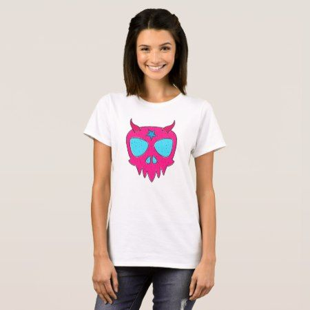 Devilish Skull Design T-Shirt - click to get yours right now!