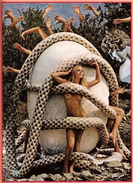 Juxtapoz Magazine - Salvador Dali's Bizarre, Sexy 1973 Playboy Photoshoot (NSFW)