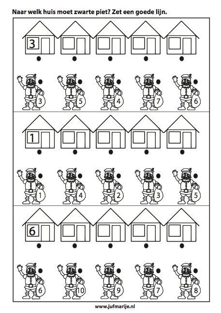 naar welk huis moet zwarte piet?