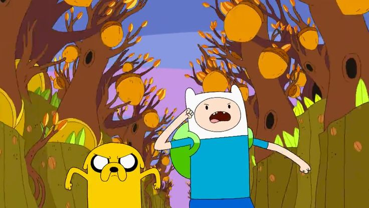 Adventure Time - NYT Watching -- Adventure Time  2010-Present• Seven seasons and counting, between 26 and 52 15-minute episodes each• Jeremy Shada, John DiMaggio, Tom Kenny, Hynden Walch and Olivia Olson  Two best friends go on fantastical journeys through a post-apocalyptic paradise in this trippy animated series.