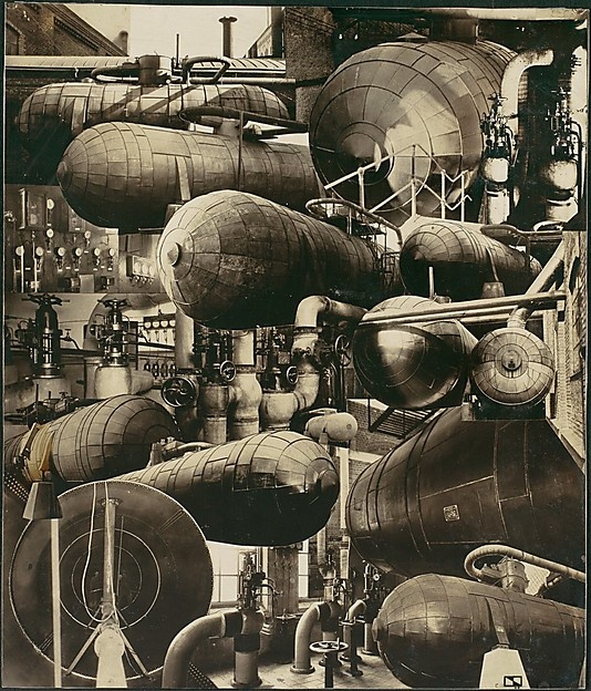 Industrial Pipes and Boilers, Cesar Domela, 1928