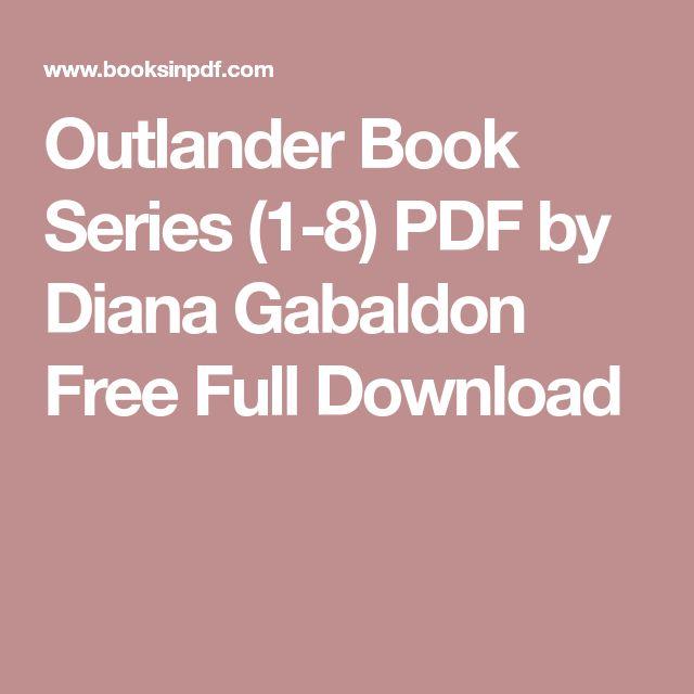 Outlander Book Series (1-8) PDF by Diana Gabaldon Free Full Download