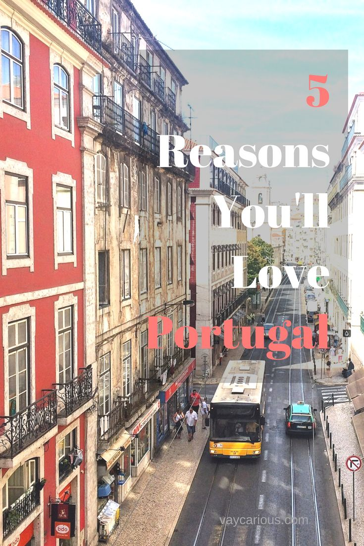 5 Reasons You'll Love Portugal! Beautiful beaches, gorgeous sunsets, museums, history and FOOD! Portugal is the perfect travel destination for solo travel, couples, family travel, digital nomads, budget, luxury, and mid priced adventures. Tips and ideas to have a bucket list holidays in Europe. http://vaycarious.com/2016/11/28/why-portugal-will-be-your-favorite-travel-destination/