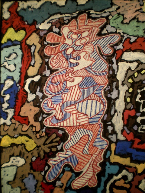 Jean Dubuffet 'Court les Rues', 1962, Milwaukee Museum of Art, Milwaukee, Wisconsin by hanneorla, via Flickr