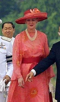 Queen Margrethe, February 7, 2001